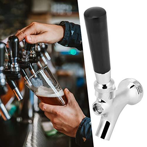 Emoshayoga Grifo de Cerveza confiable, Conveniente para Usar, Kit de Accesorios de elaboración de Cerveza de construcción de latón para el Sistema de Barril de Cerveza Comercial doméstico