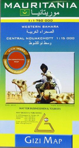 Mauritania Geographical Map 1 : 1 750 000: Western Sahara 1 : 1 750 000 / Central Nouakchott 1 : 15 000