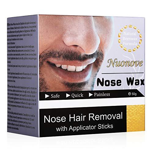 Nose Wax, Nasenwachs, Nasal Hair Removal, Nasenhaare Wachs, Nasenwachs Set für Männer und Frauen, Safe Quick and Painless, 50g (EINWEG)