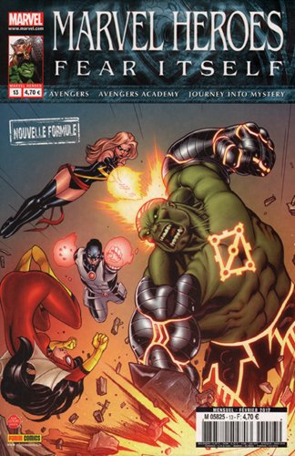 Marvel heroes 13 (fear itself)