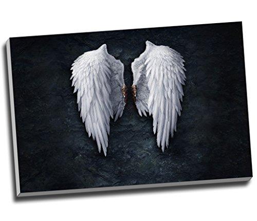 Ángel caído alas impresión DE lienzo pared arte imagen lienzo grande A130x 20Inches (76.2cm x 50,8cm)