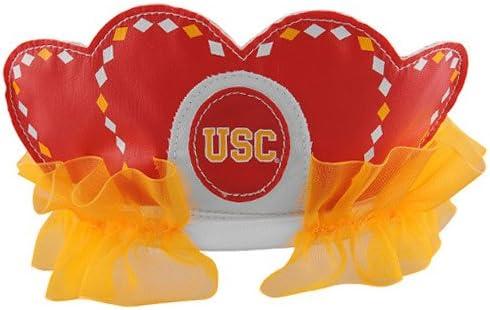 Bleacher Creatures NCAA USC Trojans Princess Tiara, Red