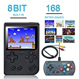 Best Kids Plug And Play Video Games - weikin Handheld Game Console, 168 Classic Games 3 Review