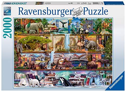 Ravensburger Animales salvajes Puzzle 2000 Pz, Puzzle para adultos