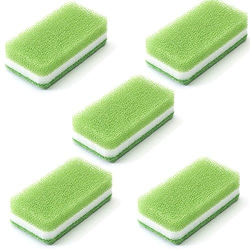 ダスキン台所用スポンジ〈抗菌タイプ〉ライトグリーン5個セット