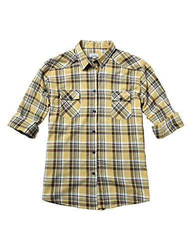 Match Women's Plus Size Long Sleeve Plaid Shirt (4XL, 2020 Checks#3)