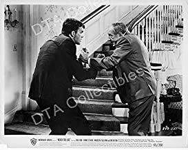 MOVIE PHOTO: NEVER TOO LATE-1965-JIM HUTTON-PAUL FORD-B&W-8x10 STILL FN