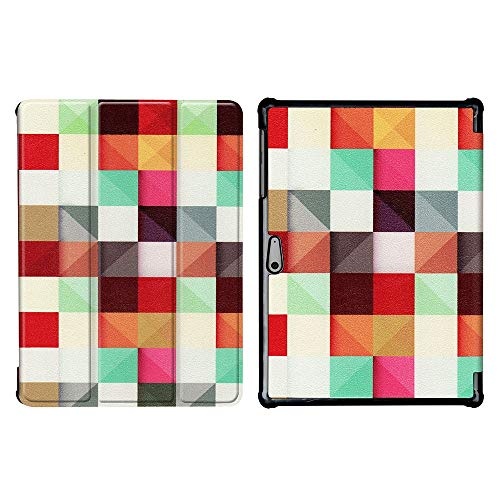 GHC PAD Cases & Covers For Microsoft Surface Go 10, Protective Folio case Folding PU Leather Tablet Stand Cover for Surface Go 10 (Color : HLF)