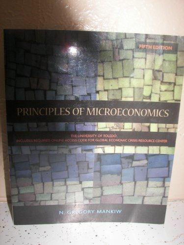 Principles of Microeconomics, 5e, University of Toledo