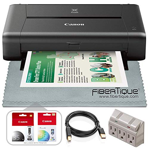 Canon PIXMA iP110 Inkjet Portable Printer