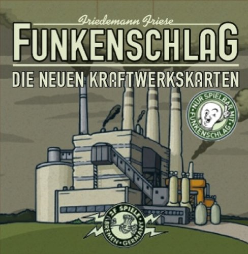 Unbekannt 2F-Spiele 2FS00004 Funkenschlag: Kraftwerke Erweiterung