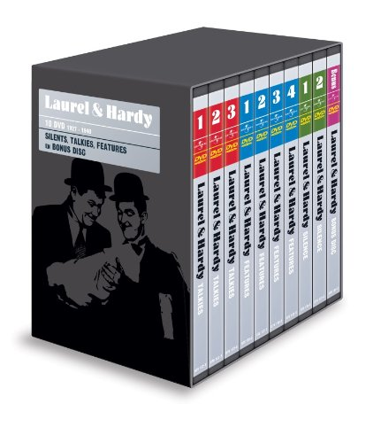 Laurel & Hardy Collection - 19-DVD Box Set ( Unaccustomed As We Are / Berth Marks / Men O'War / Perfect Day / They Go Boom! / The Hoose-Gow / Night [ NON-USA FORMAT, PAL, Reg.2 Import - Netherlands ]
