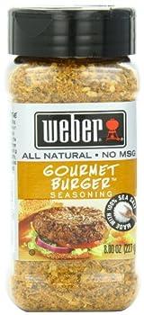 Weber Seasoning Gourmet Burger 8 Ounce