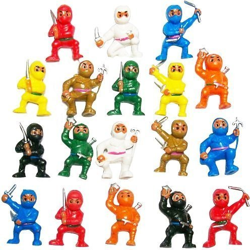 CollectsNHobbies Mini Karate Toy Figurines Variety Pack of 100 (Party Favors)