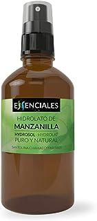 Essenciales - Hidrolato de Manzanilla Santolina de Mahón 100% Puro y Natural 100 ml | Hidrolato Santolina Chamaecyparissus