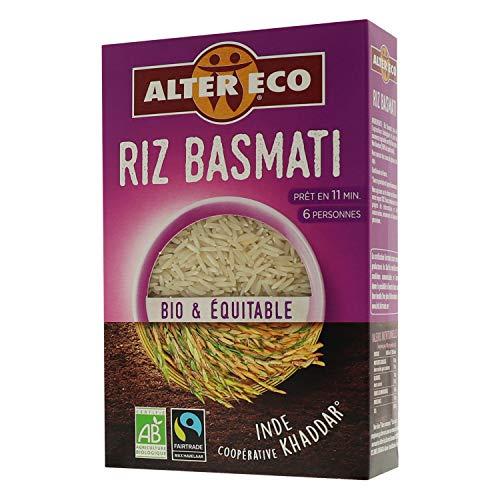 Alter Eco Riz Basmati Bio & Équitable - Prêt en 11 Minutes - 400 g