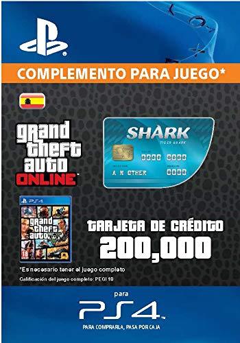 Grand Theft Auto Online - GTA V Cash Card   200