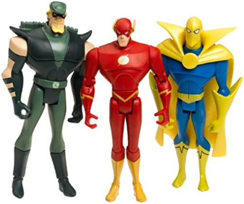 Justice League Unlimited The Flash, Dr. Fate, vert Arrow H2104 by Mattel