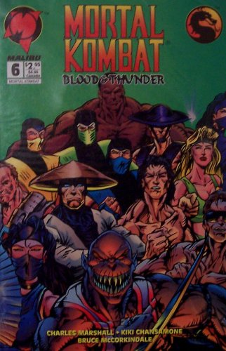 Mortal Kombat: Blood & Thunder #6