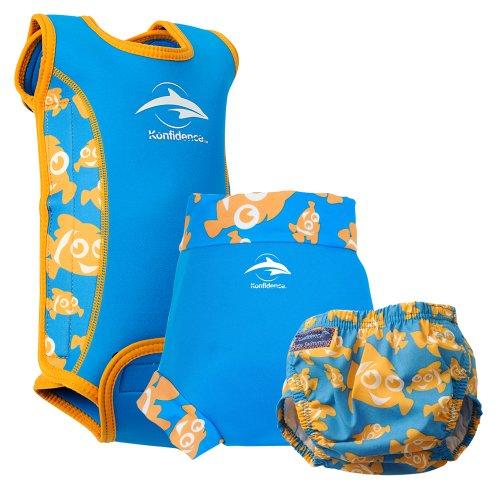 Konfidence Babywarma e Swim set pannolini Clownfish XL–da 12a 18mesi