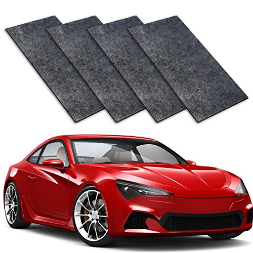 MuiSci 4PCS Nano Magic Cloth,2021 Nano Sparkle Cloth, Car Scratch Remover for Repairing Light Paint Scratches, Surface Polishing and Water Spots