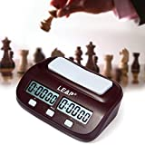 NorthStarMatrix Professional LEAP PQ9907S Digital Chess Clock Count Up Down Timer with Clock