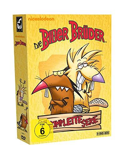 Die Biber Brüder - Die komplette Serie (9 Discs)
