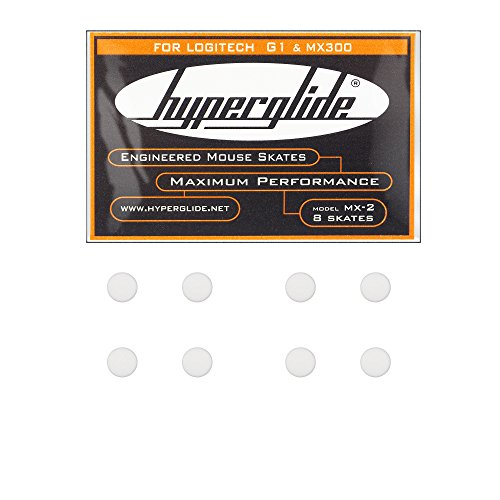 Hyperglide Mouse Skates for Logitech G1 and MX300 (MX-2)