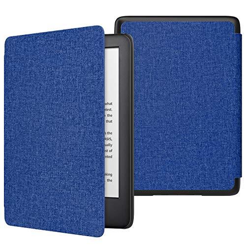 MoKo Hülle für Kindle 10.Generation 2019 Release(Model No J9G29R), Die dünnste & leichteste Schutzhülle Smart Cover mit Auto Sleep/Wake(Not Fit Kindle Paperwhite) - Denim Marineblau