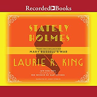 Stately Holmes audiobook cover art