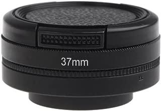 williamcr Xiaomi Yi II 4K 4K +カメラアクションカメラレンズ保護キャップカバー+ 37mm UVフィルタレンズfor Xiaomi Yi 24K 4K +カメラアクセサリー