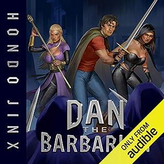 Dan the Barbarian audiobook cover art