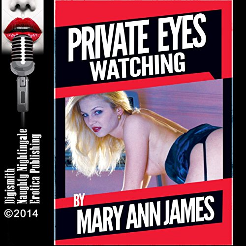 Private Eyes Watching audiobook cover art