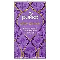 1パックディナーティー20後の堅牢な (x 6) - Pukka After Dinner Tea 20 per pack (Pack of 6) [並行輸入品]