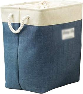 MAHFEI Corbeilles De Rangement Boîte De Rangement Jouet Vêtements Coton Et Lin Épaississant Respirant Grande Capacité Peut...