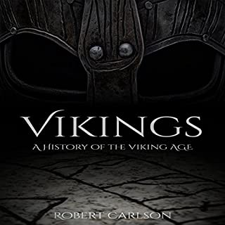 Vikings: A Concise History of the Vikings audiobook cover art