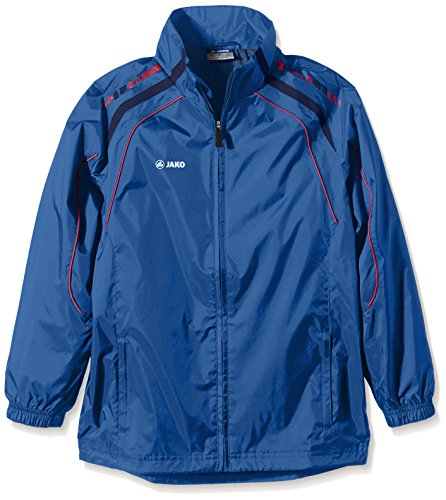 JAKO Kinder Allwetterjacke Champion, Nightblue/Marine/rot, 164