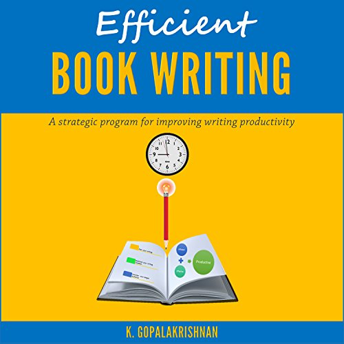 Efficient Book Writing audiobook cover art