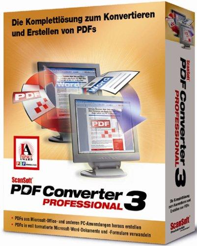 Scansoft PDF Converter Pro 3.0 W32