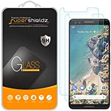 (2 Pack) Supershieldz for Google (Pixel 3) Tempered Glass Screen Protector Anti Scratch, Bubble Free