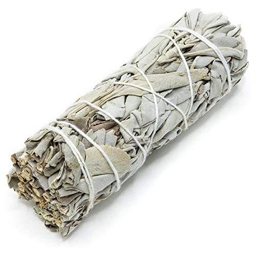 BRAND NEWS Palitos de Mancha de Salvia Blanca, Paquetes de Sail Grande Saites Stick Sage Stick Stick Sticks para el hogar Limpieza Incienso Curación Meditación