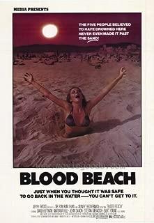 Blood Beach POSTER Movie (27 x 40 Inches - 69cm x 102cm) (1981)