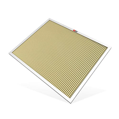 K&N 20x25x1 HVAC Furnace Air Filter, Lasts a Lifetime, Washable, Merv 11, the Last HVAC Filter You Will Ever Buy, Breathe Safely at Home or in the Office (Actual Dimensions.8 x 24.6 x 19.6 inches)