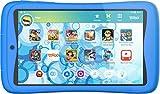 Kurio Tab Connect Toggo - Tableta infantil azul - Nickelodeon-Toggo - Memoria de 16 GB - Sistema de filtro web - Resistente a salpicaduras - Parachoques - Pantalla de 7'