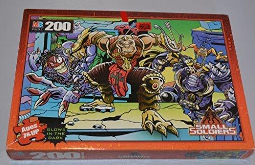 Milton Bradley Small Soldiers Gorgonites Archer Miniac Punch It 200 Piece Puzzle by