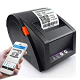 SXT Impresora De Etiquetas Térmicas, Conveniente Impresora De Etiquetas De Envío con Bluetooth para Códigos De Barras, Etiquetas, Correo, Envío Y Más. 3,5 Pulgadas/S
