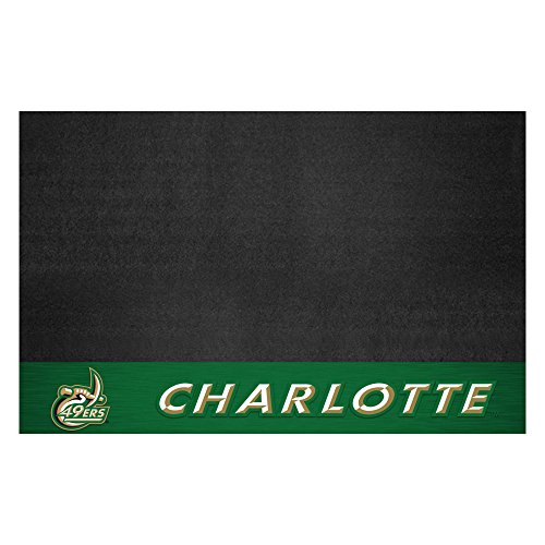 FANMATS NCAA North Carolina Charlotte 49ers Grill Mat, Team Color, One Size