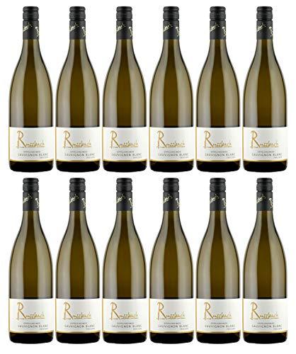 Russbach Eppelsheimer Sauvignon Blanc trocken, Weingut Russbach, Rheinhessen, Jahrgang 2019 (12 x 0,75 l)