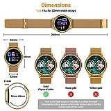 Zoom IMG-1 canmixs smartwatch donna uomo orologio