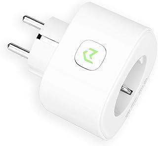 Enchufe Inteligente, Mide el Consumo 16A 3680W Wi-Fi Smart Plug, con Control Remoto. Compatible con Alexa, Google Assistant y SmartThings. Modelo MSS310.